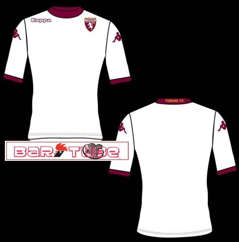 nuova maglia torino 2013 2014 trasferta seconda maglietta divisa